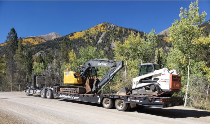 Equipment Delivery Services throughout Southeastern Colorado