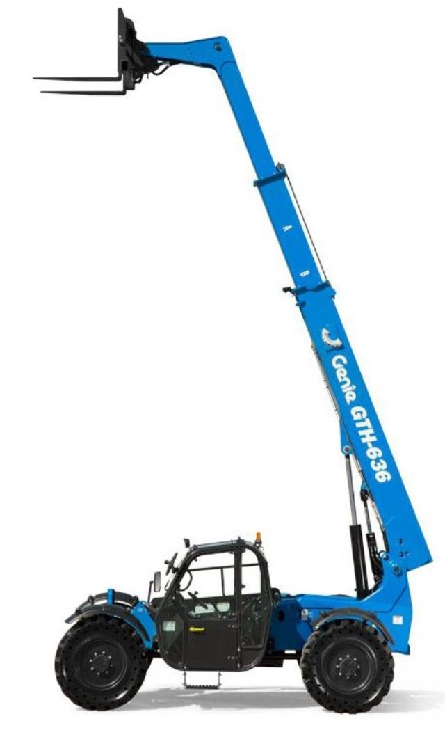 Where to find FORKLIFT EXTENDABLE GENIE GTH636 in Colorado Springs