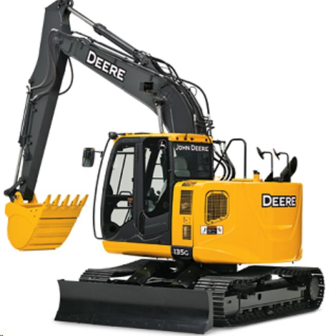 Where to find EXCAVATOR JOHN DEERE 135G in Colorado Springs