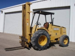 Rental store for FORKLIFT ST MAST 4X4 DEERE 482C in Colorado Springs CO