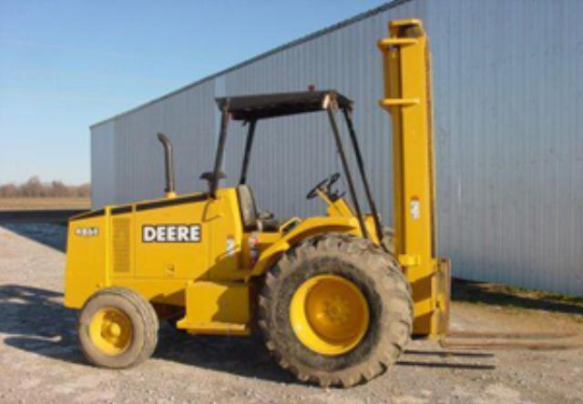 Where to find FORKLIFT ST MAST 2WD DEERE 485E in Colorado Springs