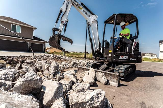 Where to find MINI EXCAVATOR BOBCAT E32 in Colorado Springs