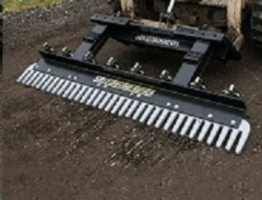 Rental store for SKIDSTEER ATTACHMENT-LANDSCAPE RAKE SR1 in Colorado Springs CO