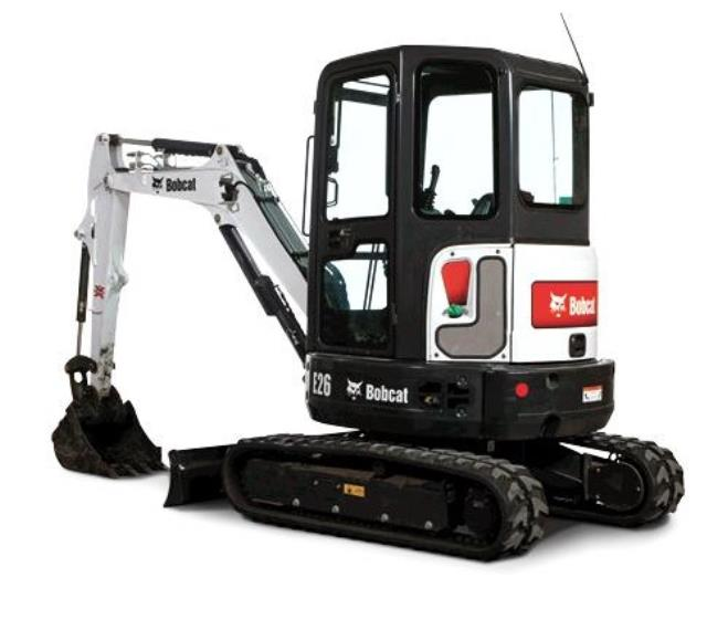 Where to find MINI EXCAVATOR BOBCAT E26 in Colorado Springs